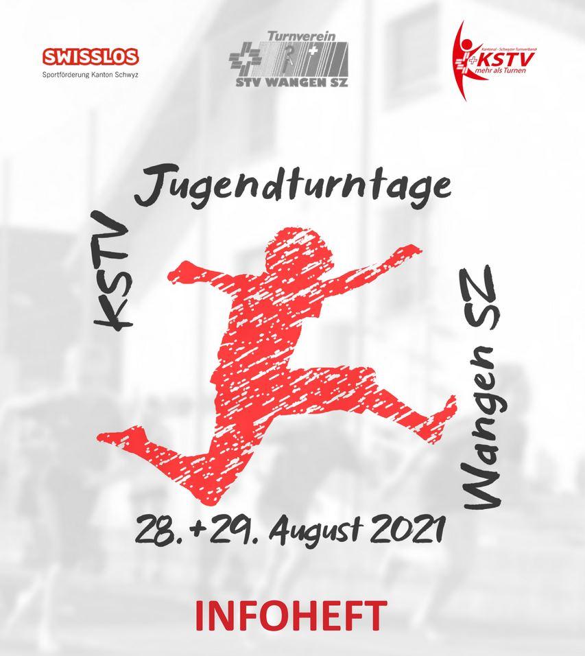 KSTV Jugendturntage 2021 – Infoheft