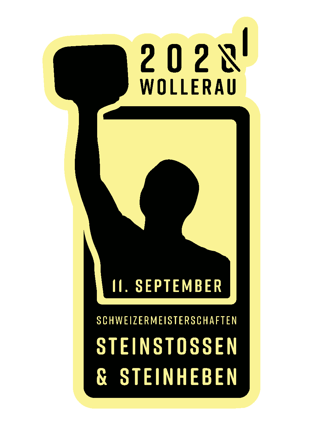 Schweizermeisterschaften im Steinstossen und Steinheben am 11. September